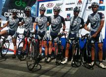 スポンサーサイクルチームFirefighters Cycling