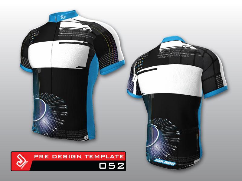 サイクルジャージテンプレート52